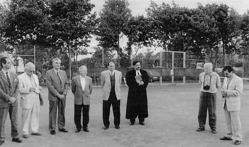 1998 - Einweihung der Tennisanlage