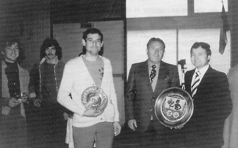1977 1. Begegnung in Echillais