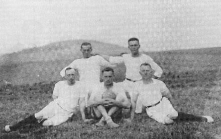 Uettinger Turnerriege um 1928